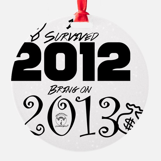 ODCG Happy New Year  Ornament