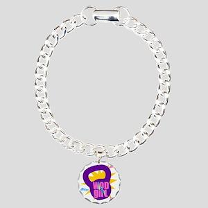 WODGirl Kettlebell Charm Bracelet, One Charm