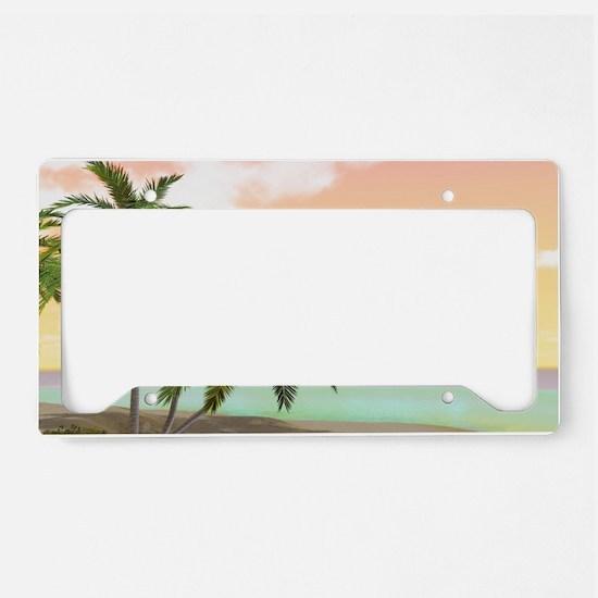 ddi_pillow_case License Plate Holder