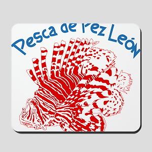Lionfish Hunt Los Roques Venezuela Mousepad