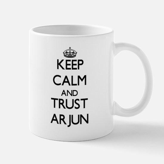 Keep Calm and TRUST Arjun Mugs