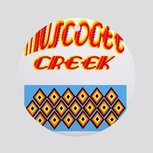MUSCOGEE CREEK Round Ornament