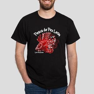 Pesca de Pez Leon - Los Roques Dark T-Shirt