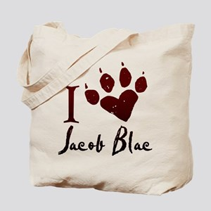 I heart Jacob Black Tote Bag