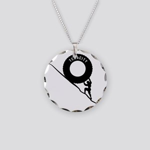 Sisyphus and his legendary T Necklace Circle Charm