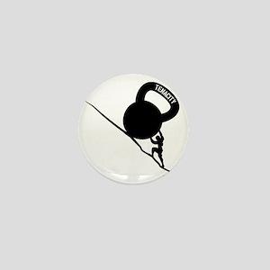 Sisyphus Kettlebell Tenacity Mini Button