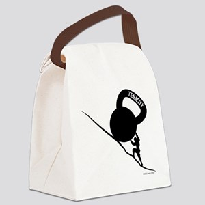 Sisyphus Kettlebell Tenacity Canvas Lunch Bag