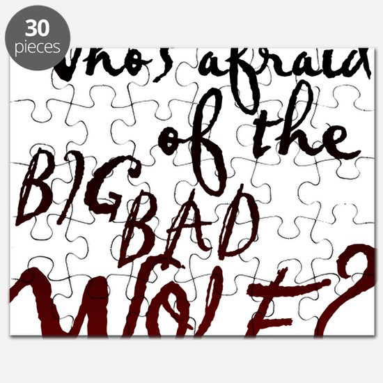 Whos Afraid of the Big Bad Wolf Puzzle