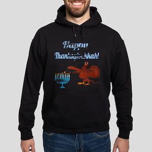 Vintage Happy Thanksgivukkah 4 Hoodie