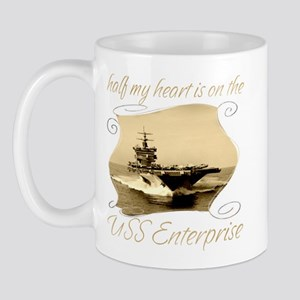 USS ENTERPRISE Mugs