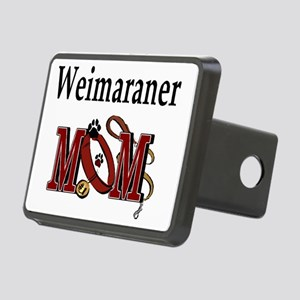 Weimaraner Mom Rectangular Hitch Cover