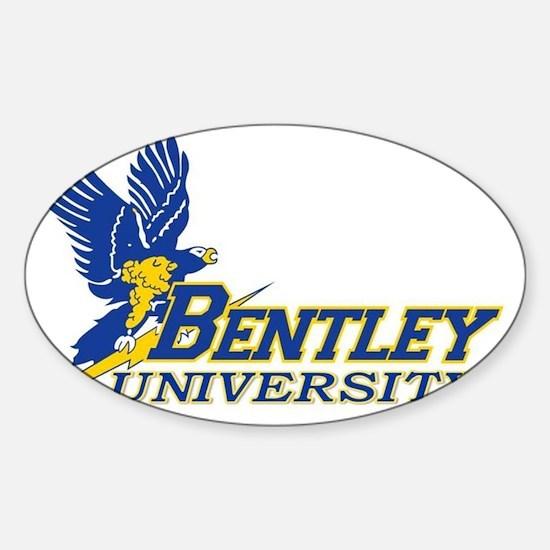 BENTLEY UNIVERSITY Sticker (Oval)