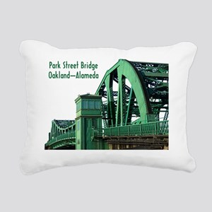 Park Street Bridge Shirt Rectangular Canvas Pillow