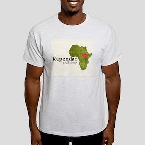 Kupenda Logo (Beige Bkgrd) Light T-Shirt