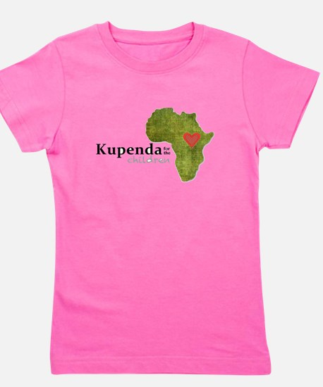 Kupenda For The Children Logo (partiall Girl's Tee