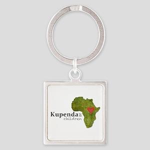 Kupenda For The Children Logo (par Square Keychain