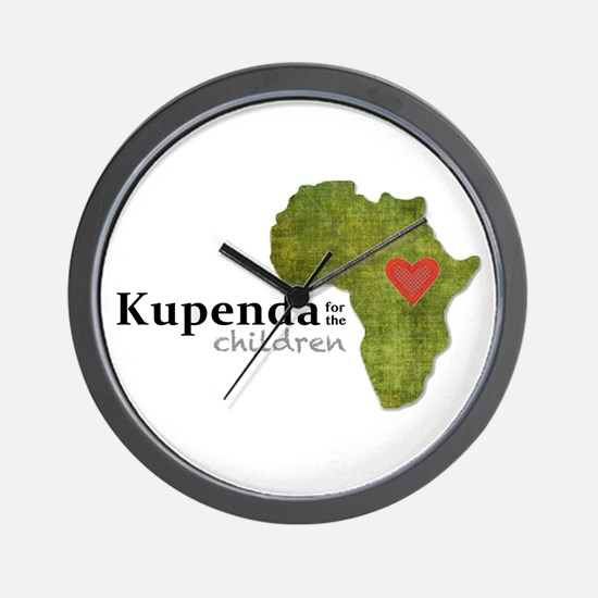 Kupenda For The Children Logo (partiall Wall Clock