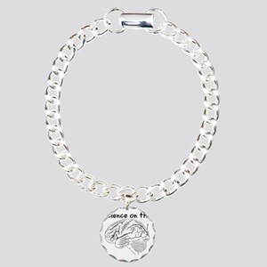 Science on the Brain Charm Bracelet, One Charm