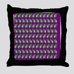 Visual Drama with Trailing Vines  The Throw Pillow
