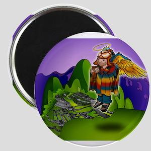 Angel de Machu Picchu Magnet