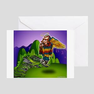 Angel de Machu Picchu Greeting Card