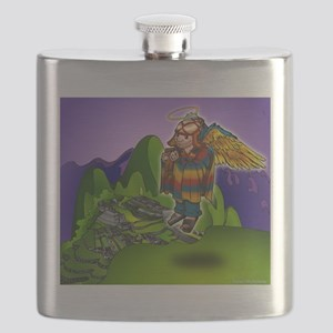 Angel de Machu Picchu Flask