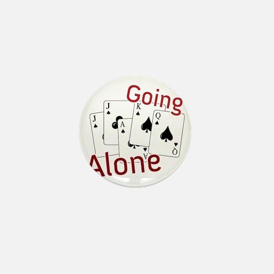 Going Alone Mini Button