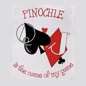 Pinochle Throw Blanket