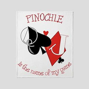 Pinochle Throw Blanket