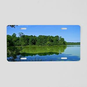 Lake Loop Aluminum License Plate
