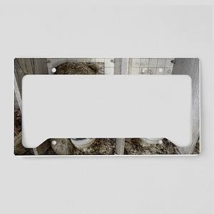 Toilet Bear License Plate Holder