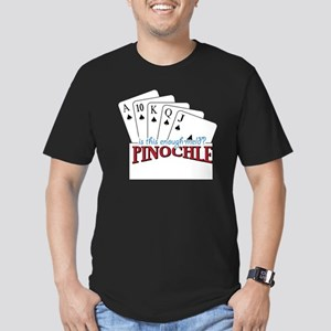 Pinochle Cards Men's Fitted T-Shirt (dark)