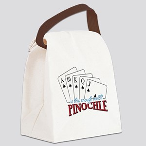 Pinochle Cards Canvas Lunch Bag