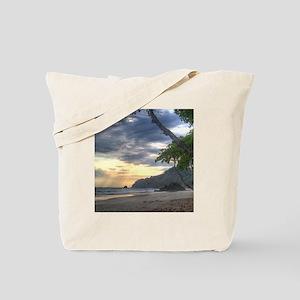 Costa Rica Beach Sunset Tote Bag