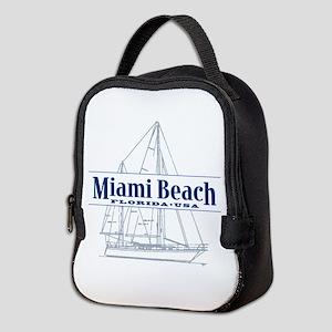 Miami Beach - Neoprene Lunch Bag