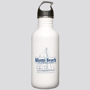 Miami Beach - Stainless Water Bottle 1.0L