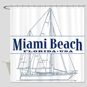 Miami Beach - Shower Curtain