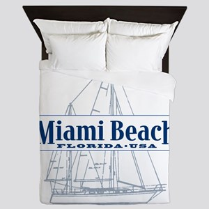 Miami Beach - Queen Duvet