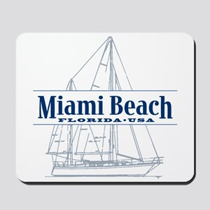 Miami Beach - Mousepad