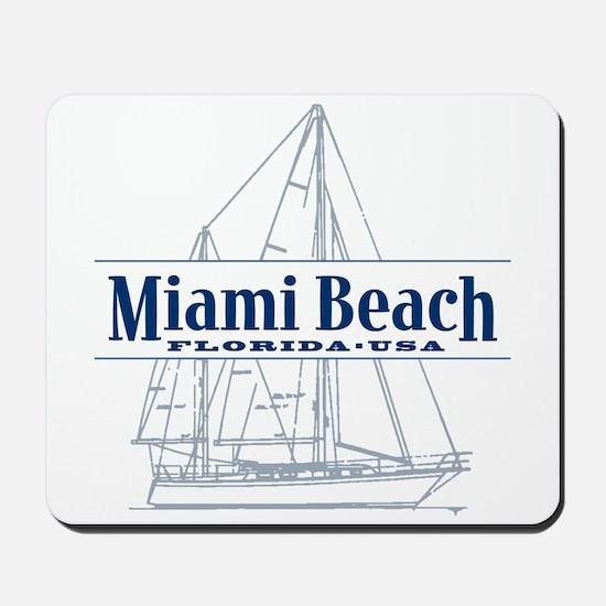 Miami Beach - Mousepad