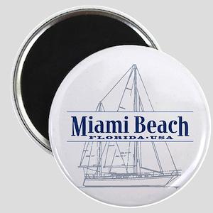 Miami Beach - Magnet