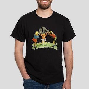 Sally, Dick and Jane Dark T-Shirt