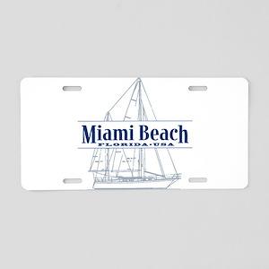 Miami Beach - Aluminum License Plate