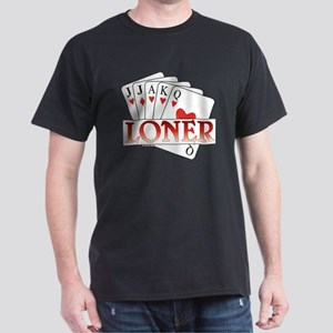Euchre Loner Dark T-Shirt
