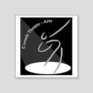 """The CTA Logo Square Sticker 3"""" x 3"""""""