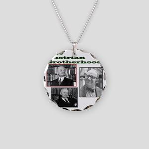 The Austrian Brotherhood Necklace Circle Charm