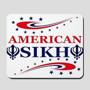 American Sikh Mousepad