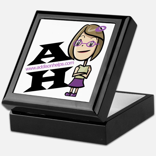 Addison Helps Keepsake Box
