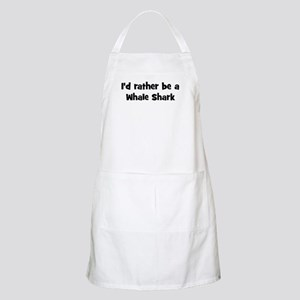Rather be a Whale Shark BBQ Apron