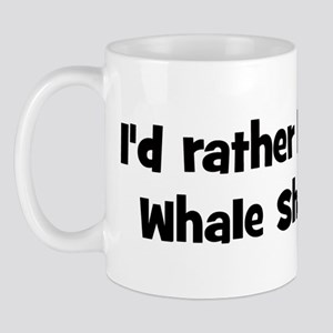 Rather be a Whale Shark Mug
